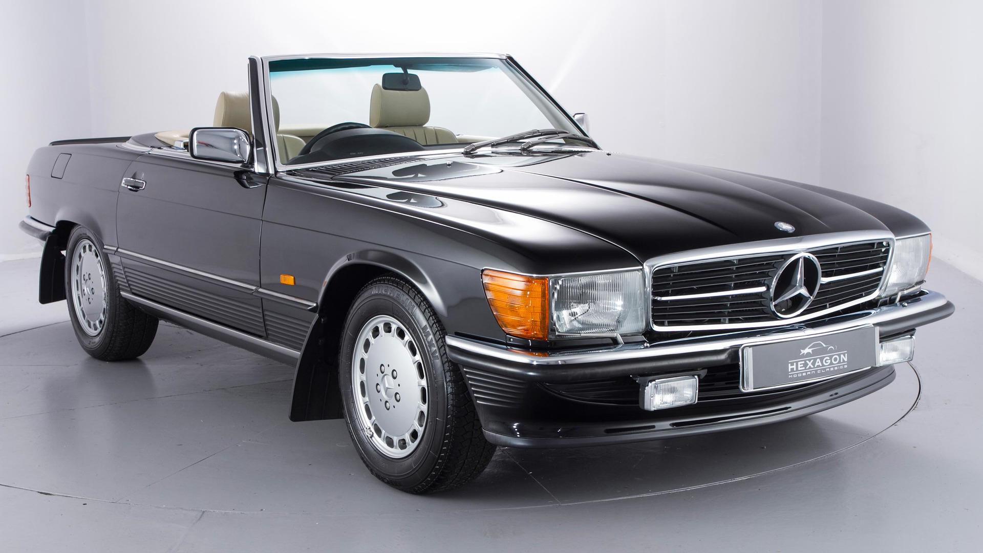 ¡Increíble! A subasta un Mercedes 500SL de 1989 con apenas 1.500 kilómetros
