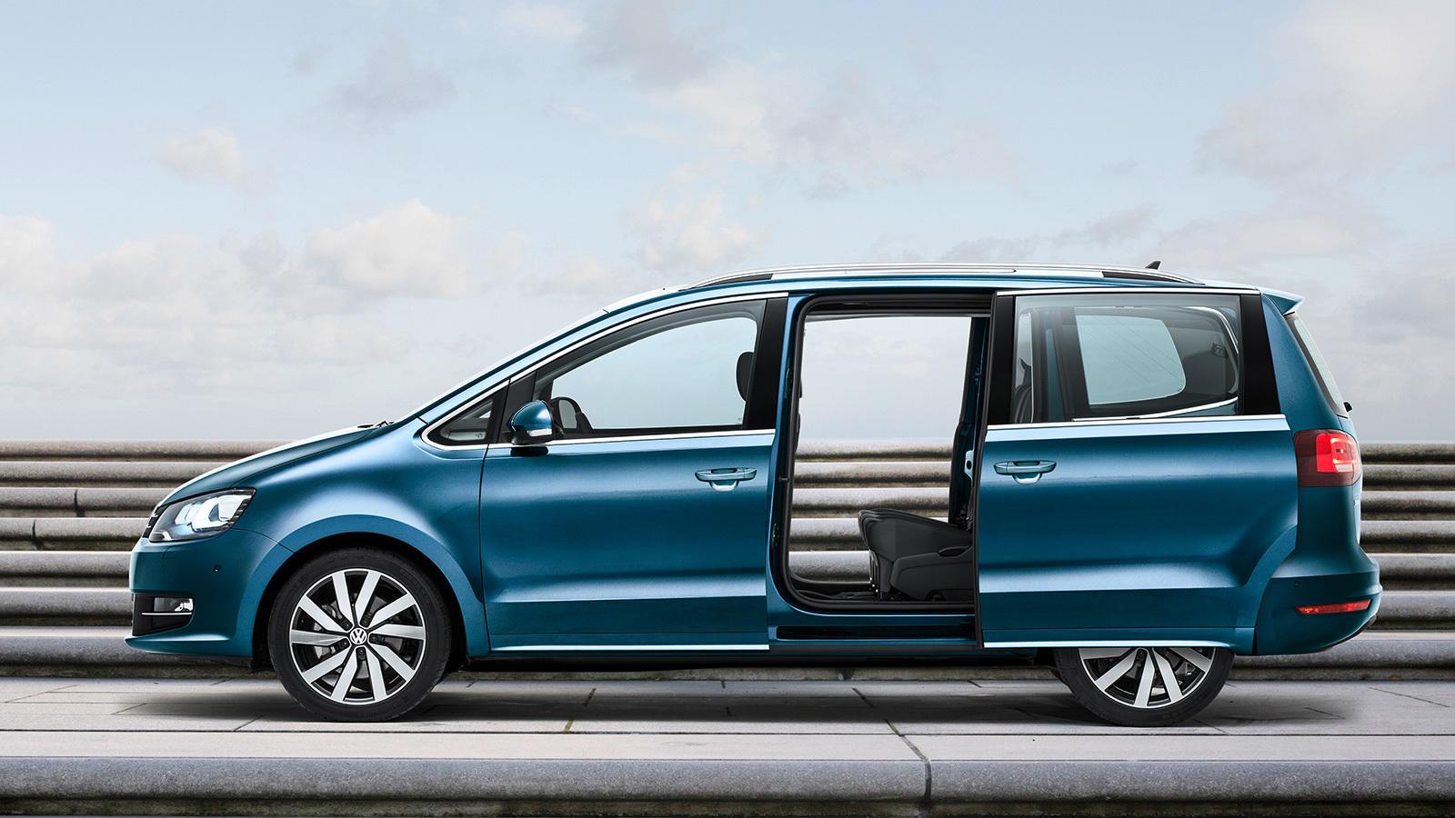 Volkswagen sharan precios noticias prueba ficha for Coches con puertas correderas