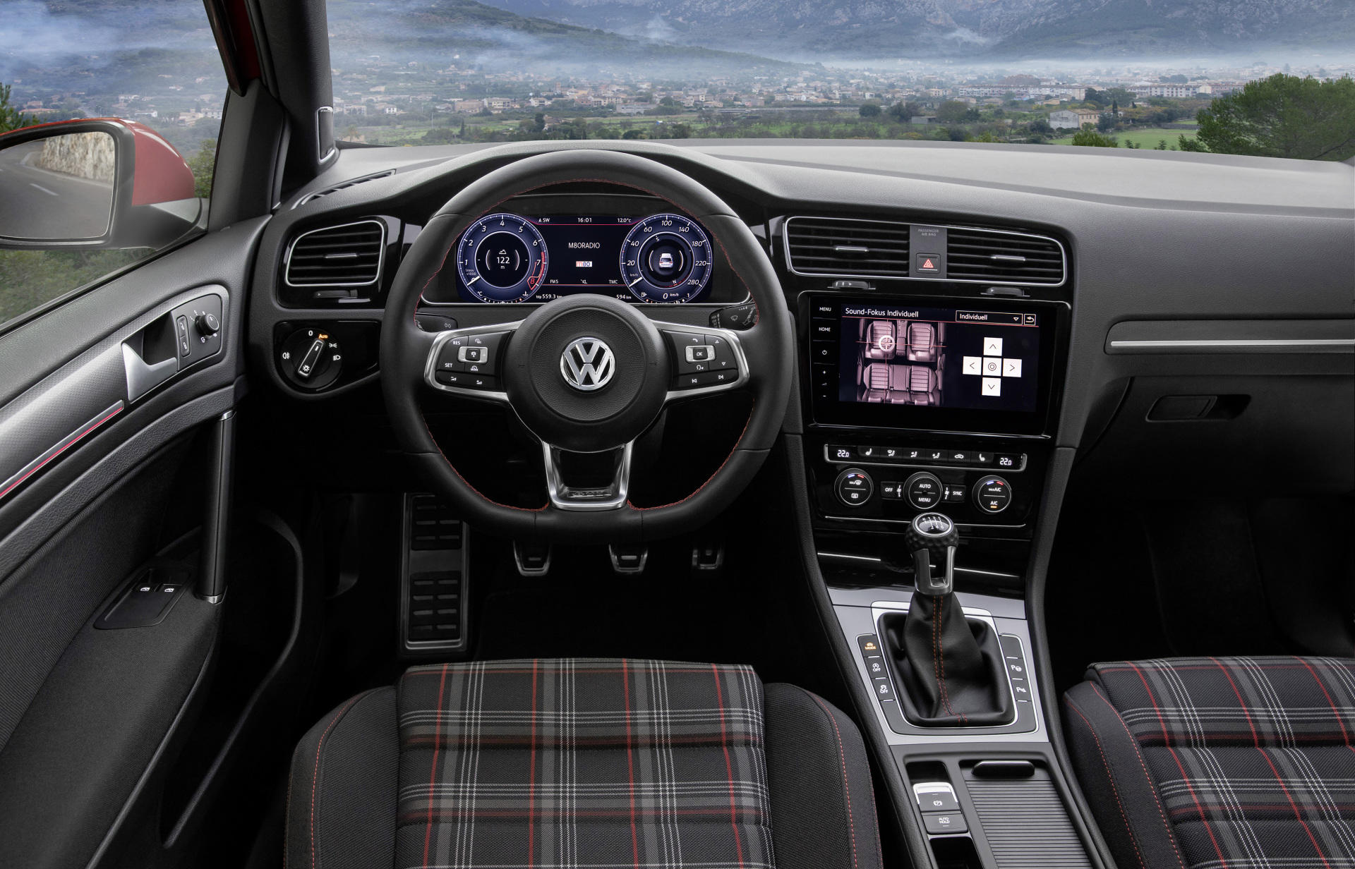 Golf 7 gti dsg interior