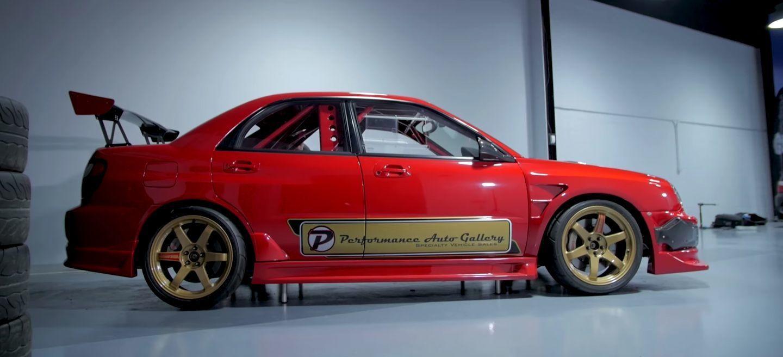 El dueño de este Subaru Impreza WRX STI ha invertido 250.000 dólares en modificarlo hasta la médula
