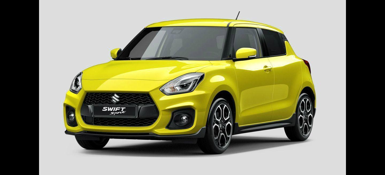 Esta es la primera imagen del nuevo Suzuki Swift Sport: es turbo y estará en el Salón de Frankfurt