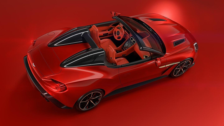 Aston Martin Vanquish Zagato Speedster Una Joya Cabrio De 600 Cv Y Solo 28 Unidades Diariomotor