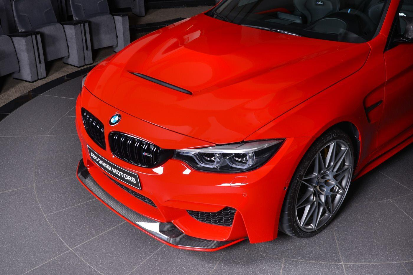 Este Bmw M4 Rojo Ferrari Quiere Que Te Olvides Del Yas