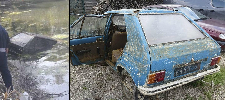 ¿Cómo es posible que este Peugeot 104 no se oxidase en 38 años sumergido en un pantano?