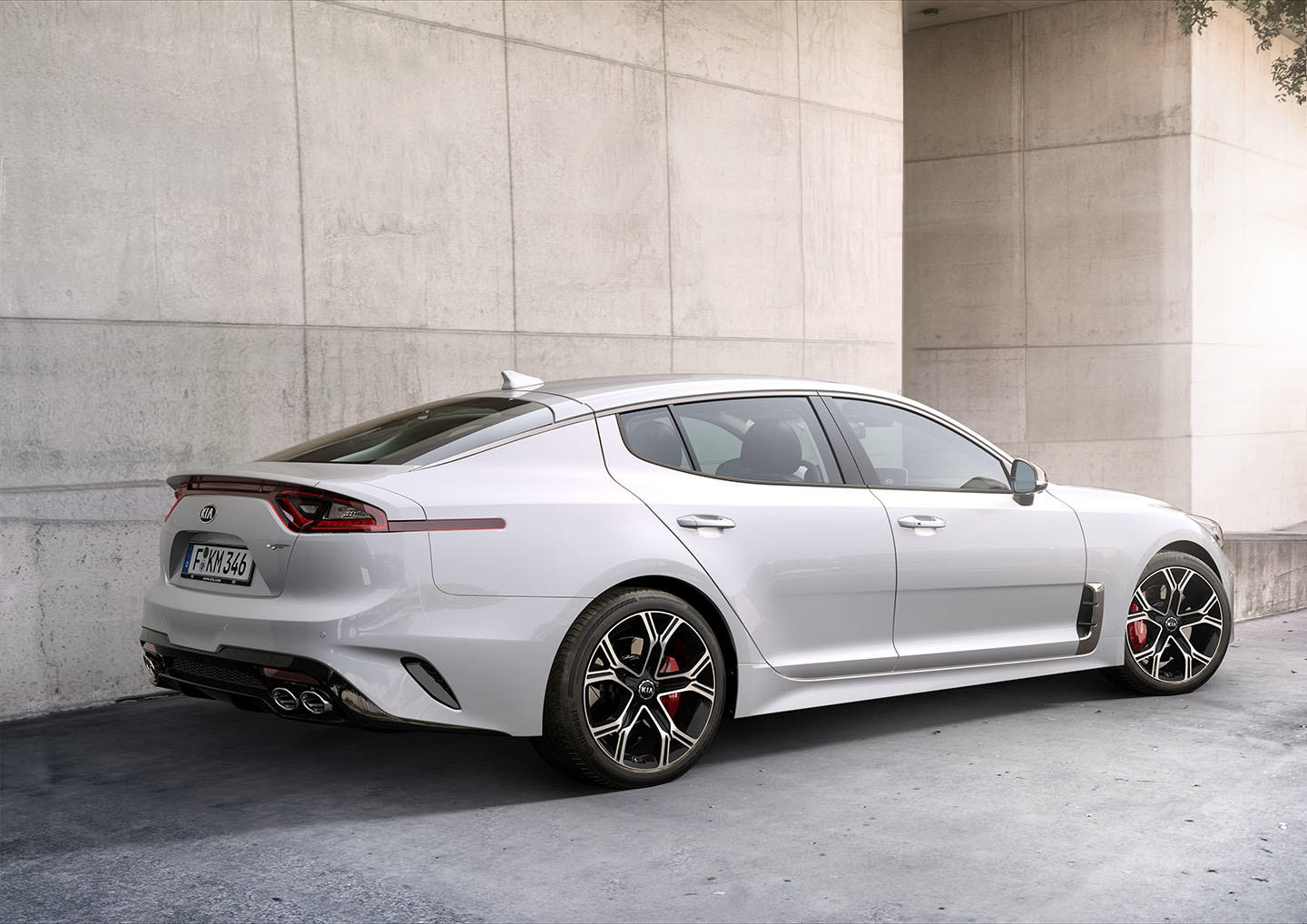 ... of the 2018 Kia Stinger. Kia's first sedan with available AWD, it has a  new Dynamic Stability Damping Control suspension that adapts to your  driving.