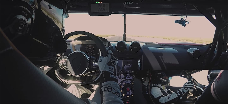 Este vídeo del Koenigsegg Agera RS a 457,94 km/h es lo mejor que verás hoy (vídeo)