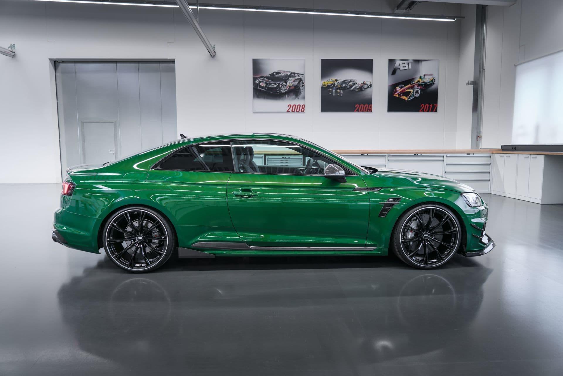 El Abt Rs5 R Es La Dosis Extra Que El Audi Rs5 Necesitaba 530 Cv Y Un Look Mas Agresivo Diariomotor