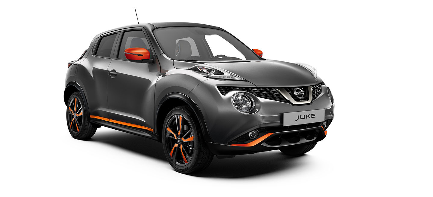 nissan actualiza con un toque de color a su nissan juke 2018 diariomotor. Black Bedroom Furniture Sets. Home Design Ideas