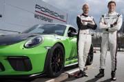 High Lars Kern Development Driver Kevin Estre Work Driver L R 911 Gt3 Rs Nurburgring Nordschleife 2018 Porsche Ag thumbnail