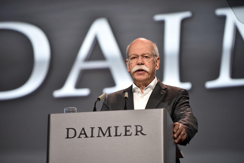 Hauptversammlung Der Daimler Ag Am 5. April 2018 In Berlin.