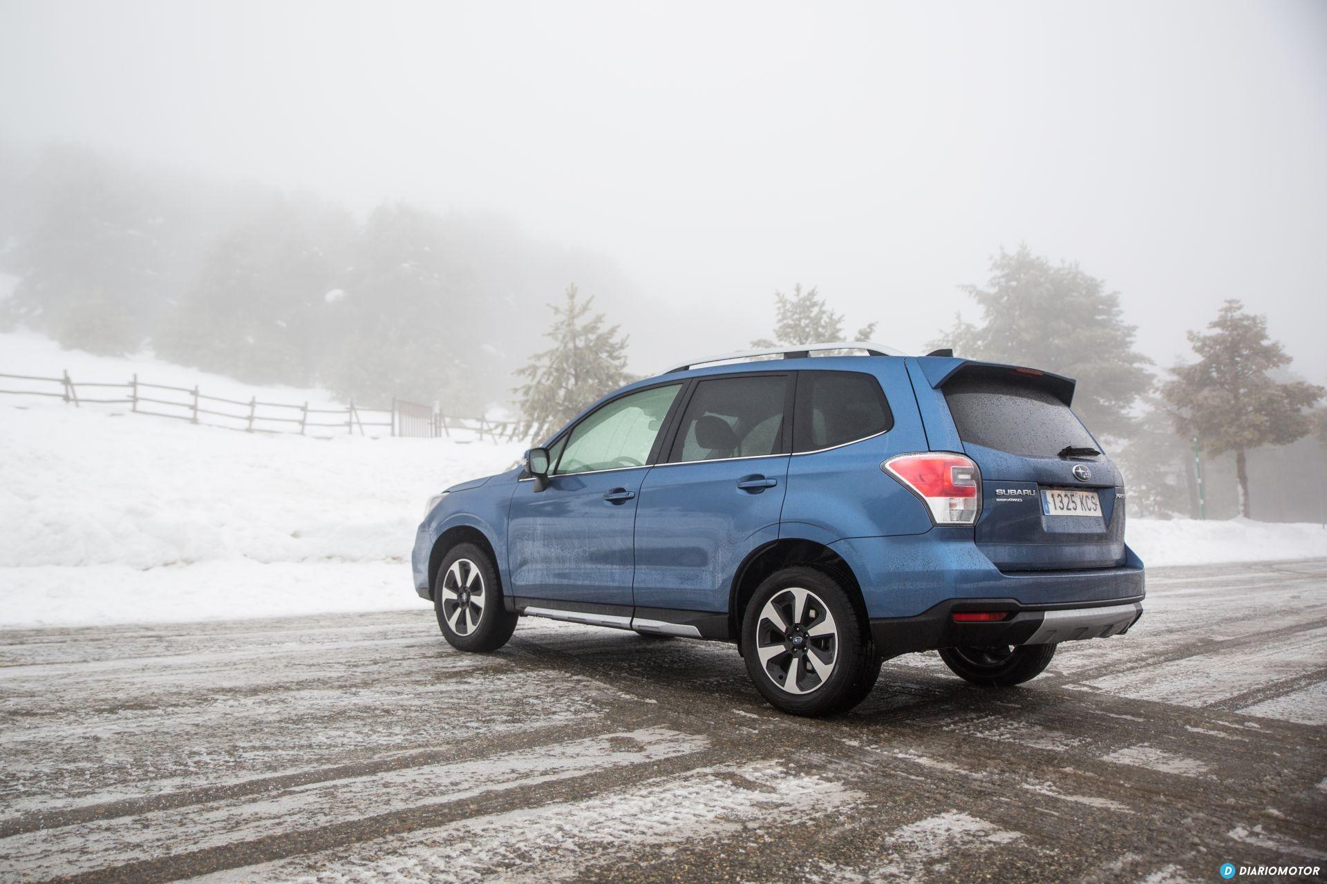 Prueba Subaru Forester 11
