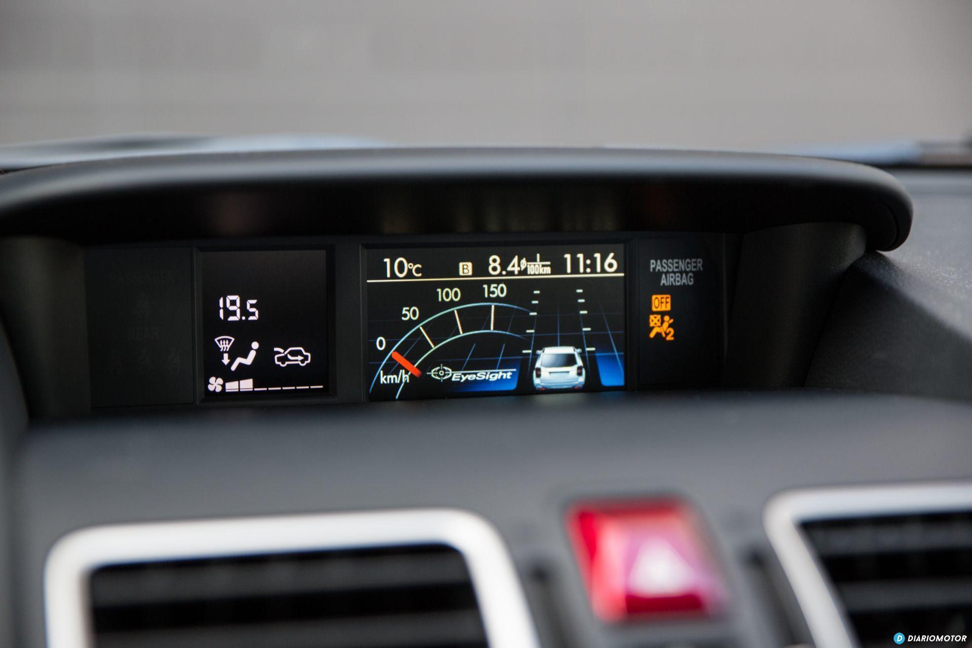 Prueba Subaru Forester 14