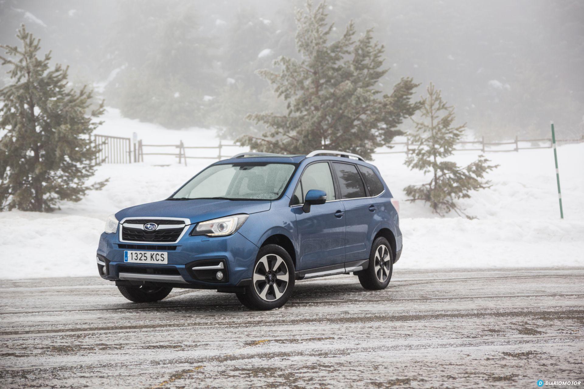 Prueba Subaru Forester 1