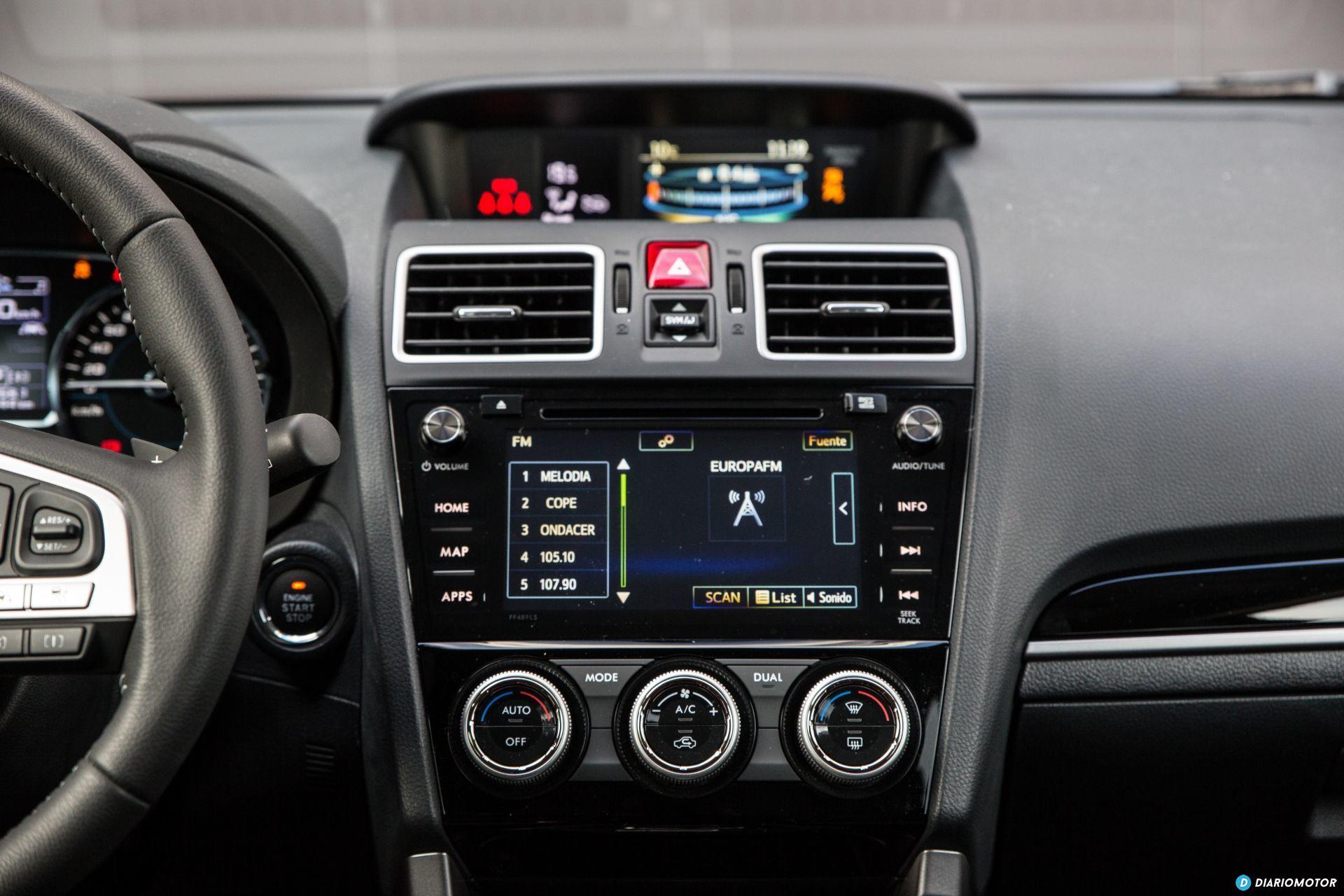 Prueba Subaru Forester 20