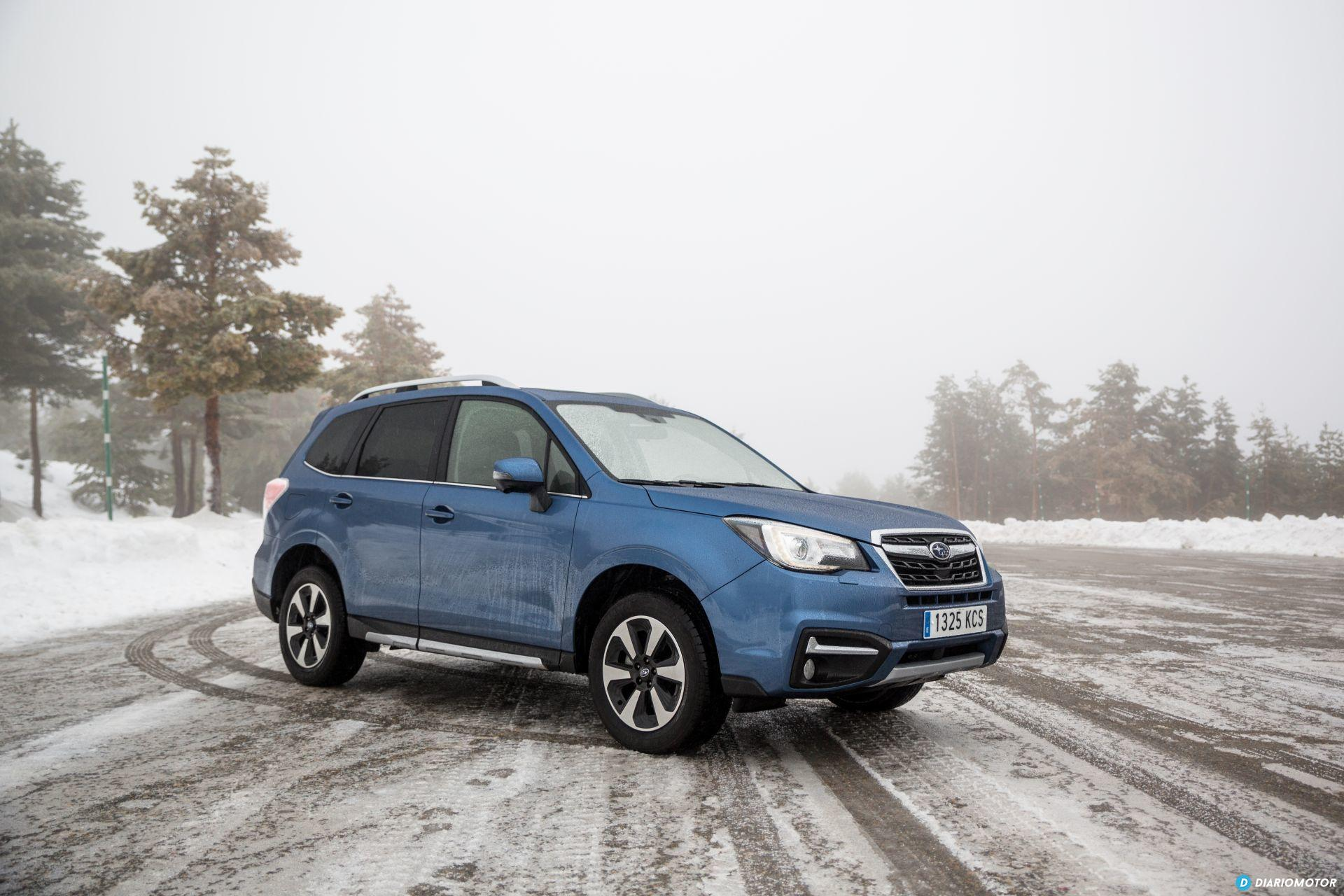 Prueba Subaru Forester 5