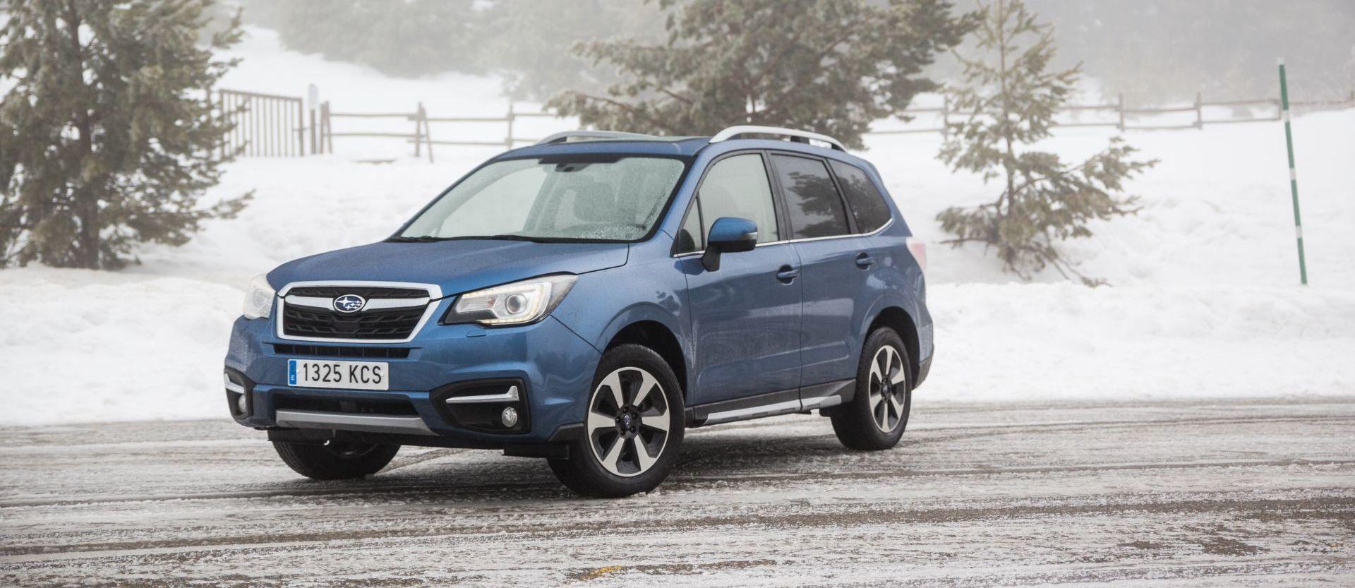Prueba Subaru Forester P