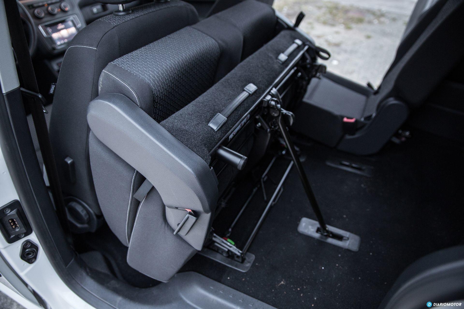 Volkswagen Caddy Maxi Outdoor Prueba 13