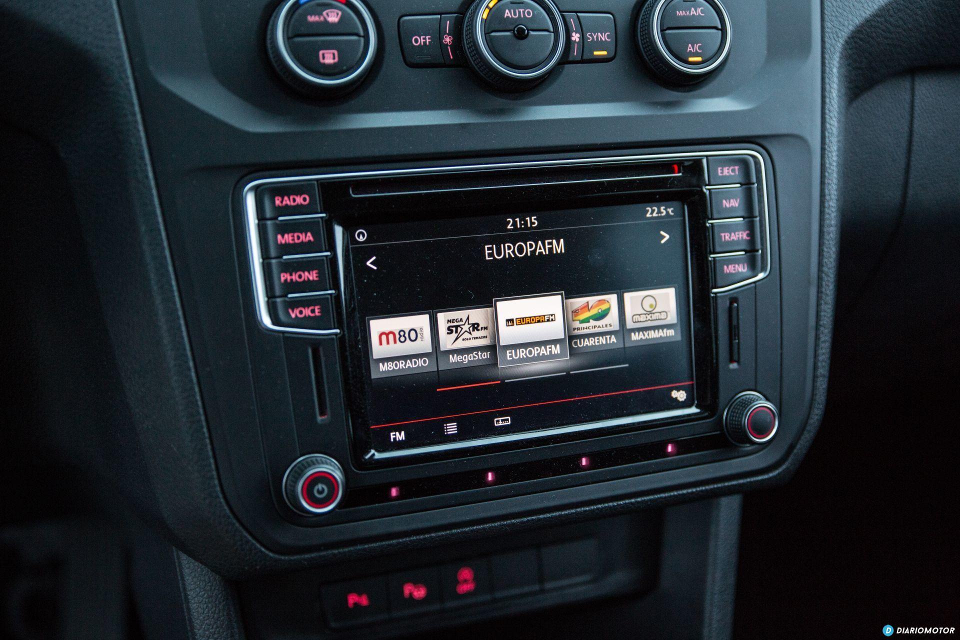 Volkswagen Caddy Maxi Outdoor Prueba 23