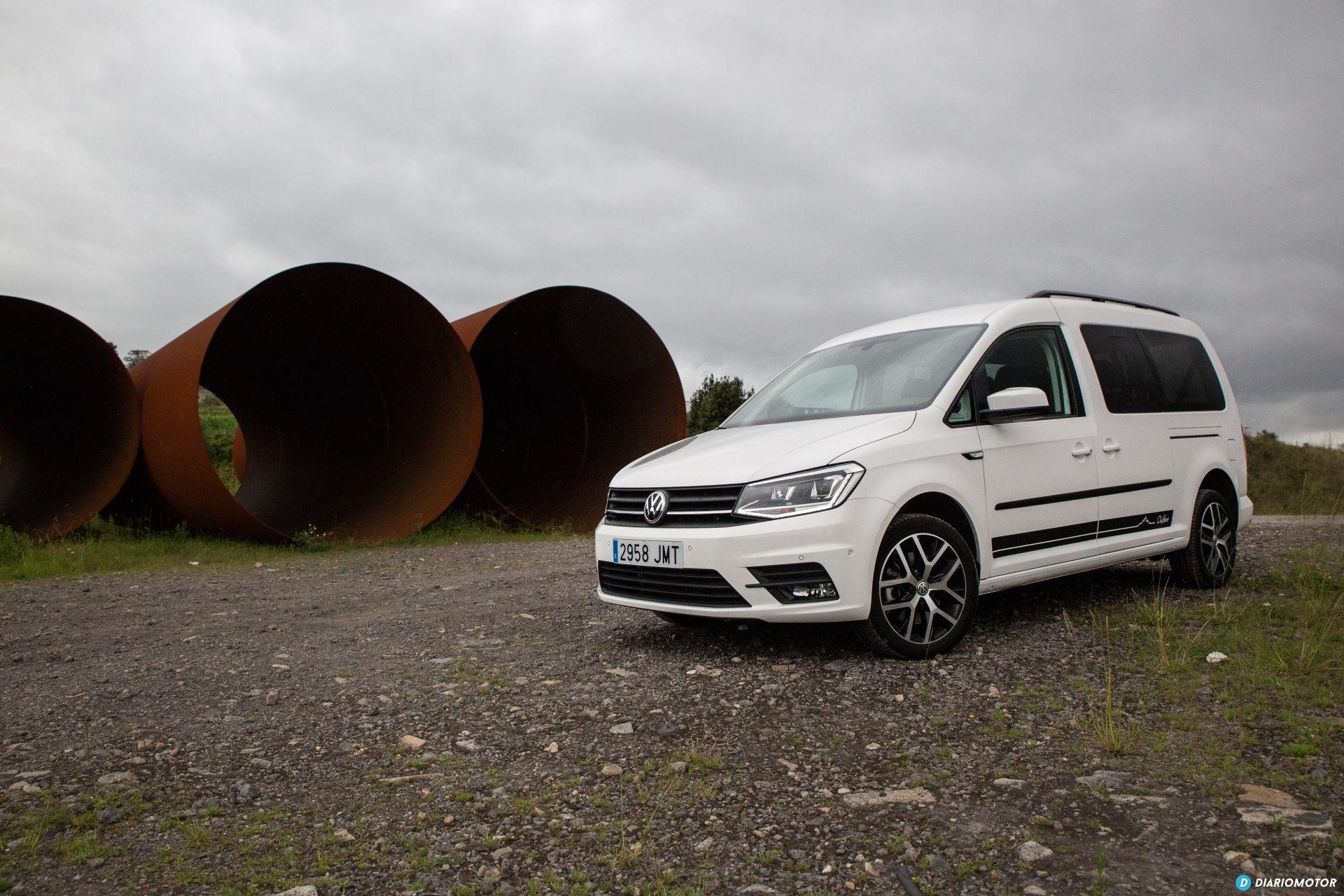 Volkswagen Caddy Maxi Outdoor Prueba 30