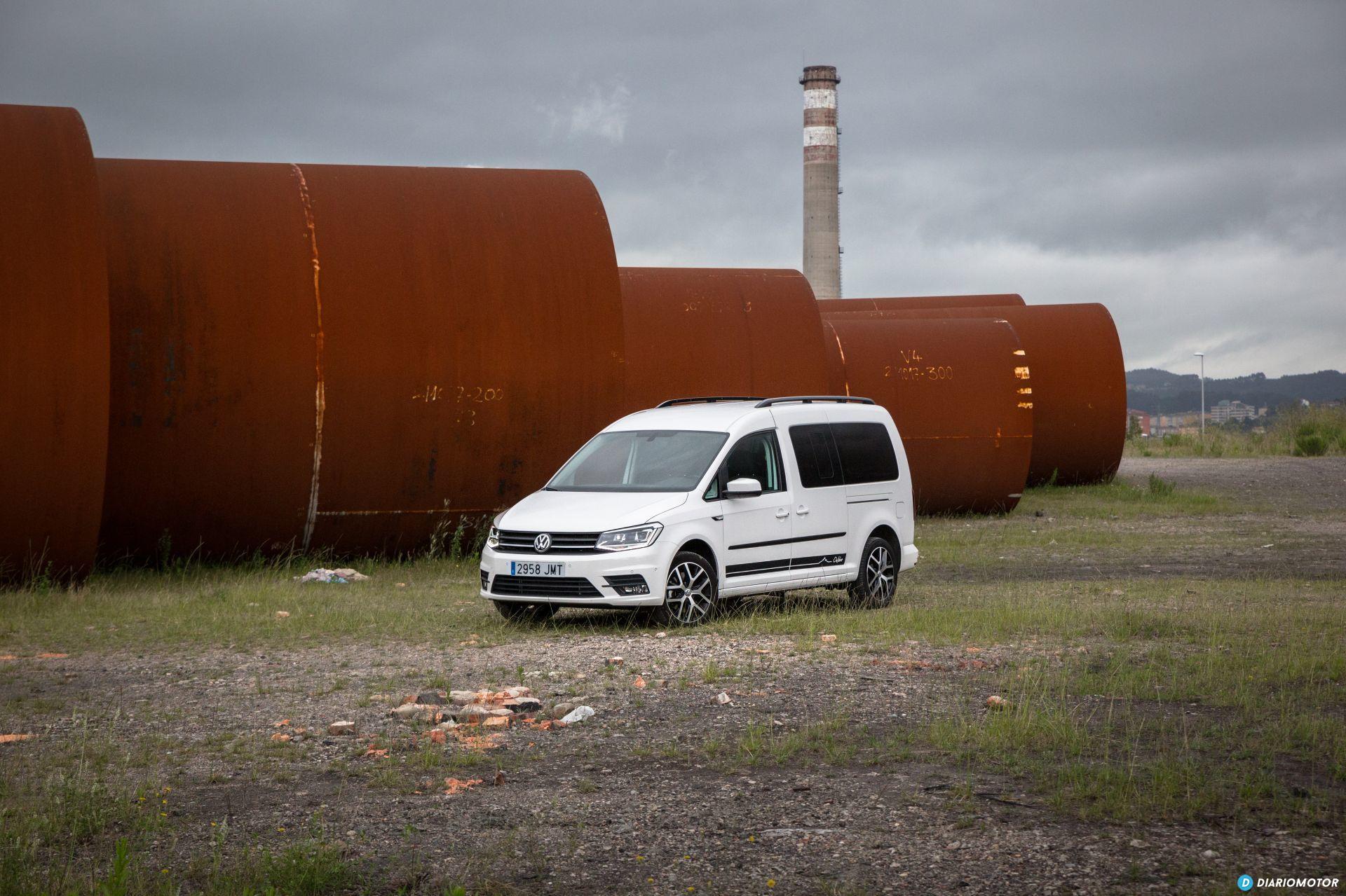 Volkswagen Caddy Maxi Outdoor Prueba 31