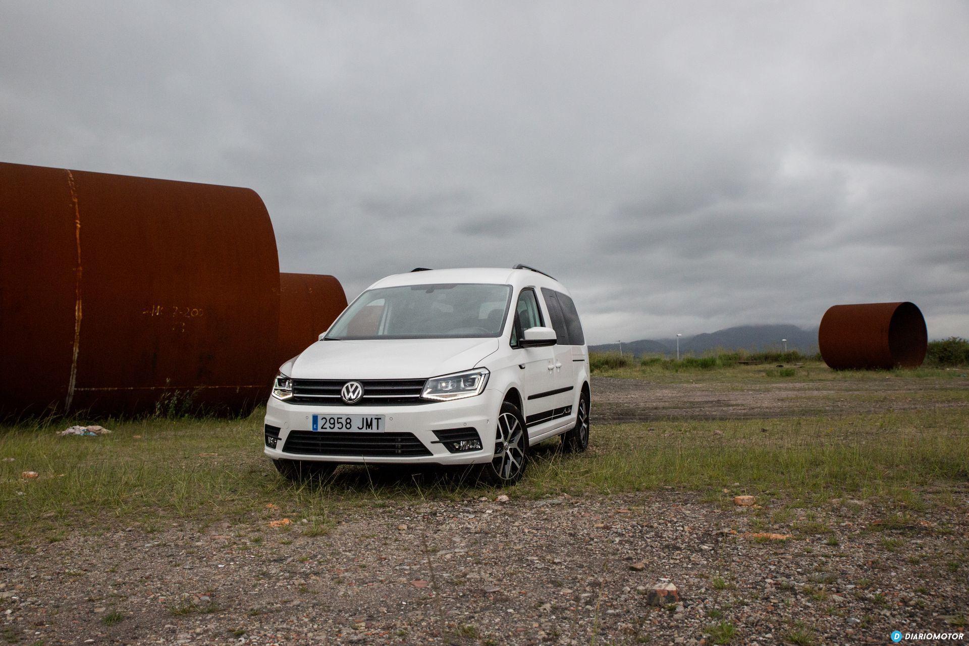 Volkswagen Caddy Maxi Outdoor Prueba 32