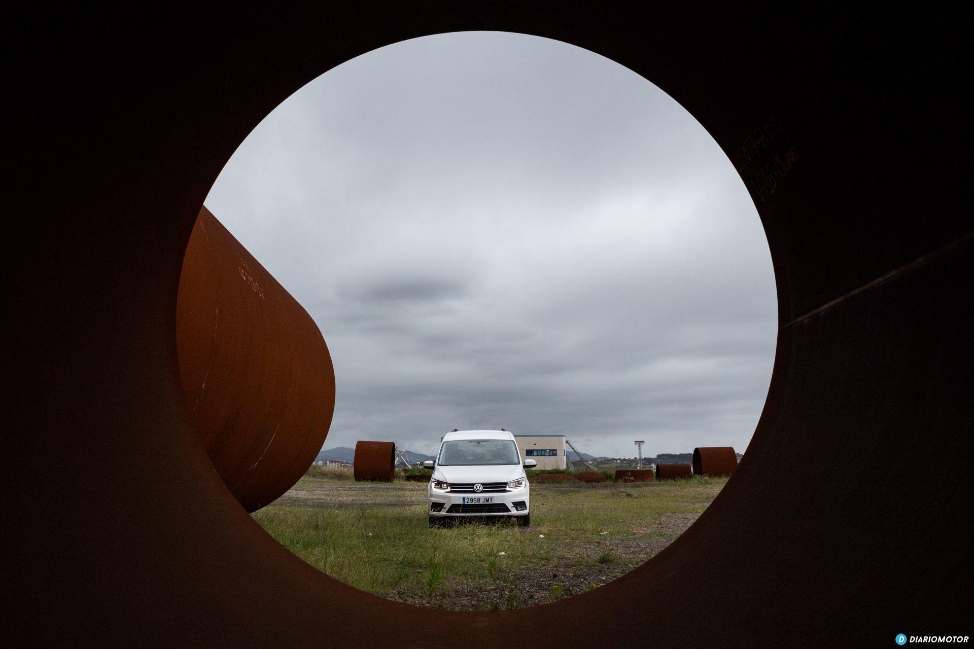 Volkswagen Caddy Maxi Outdoor Prueba 33
