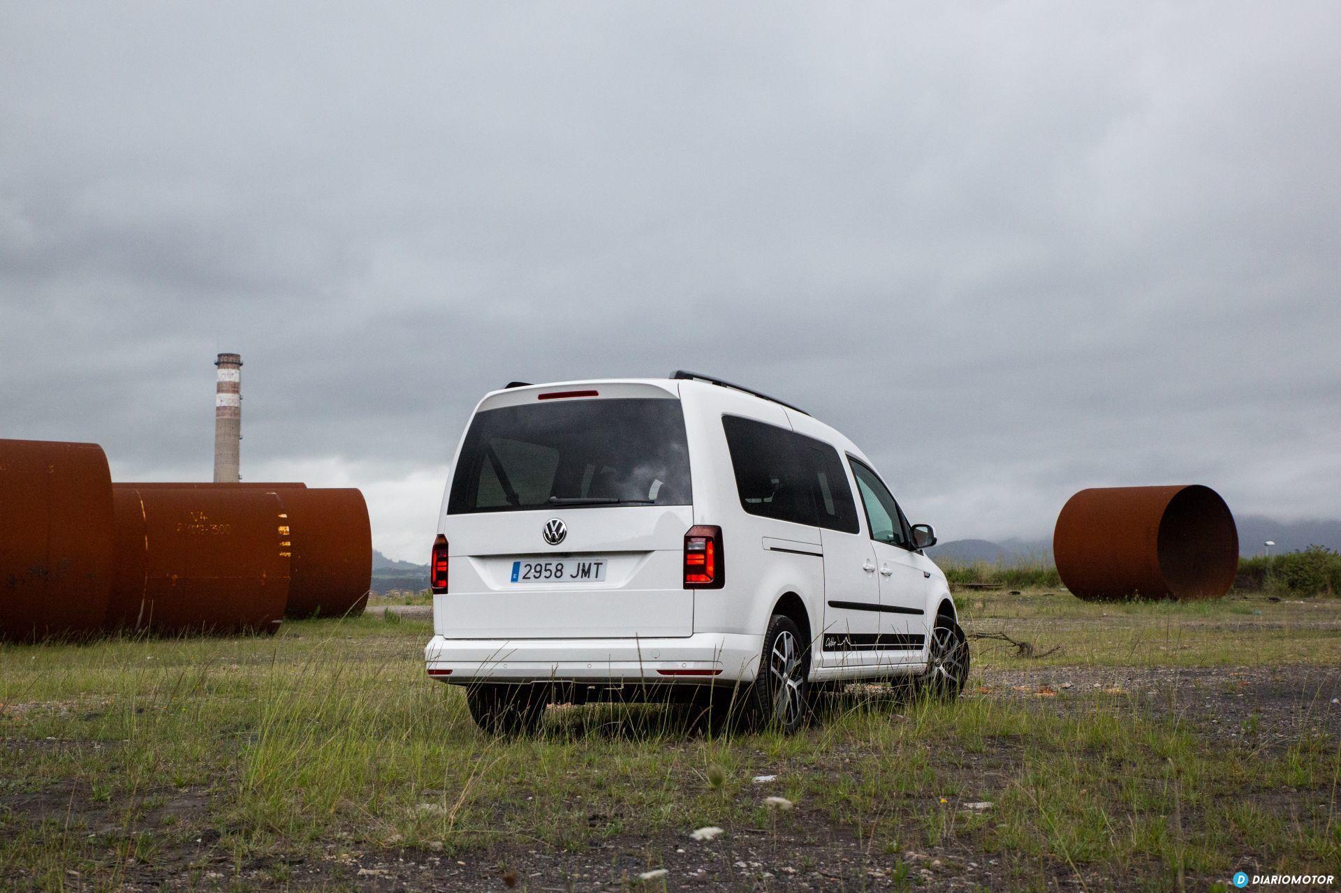 Volkswagen Caddy Maxi Outdoor Prueba 38