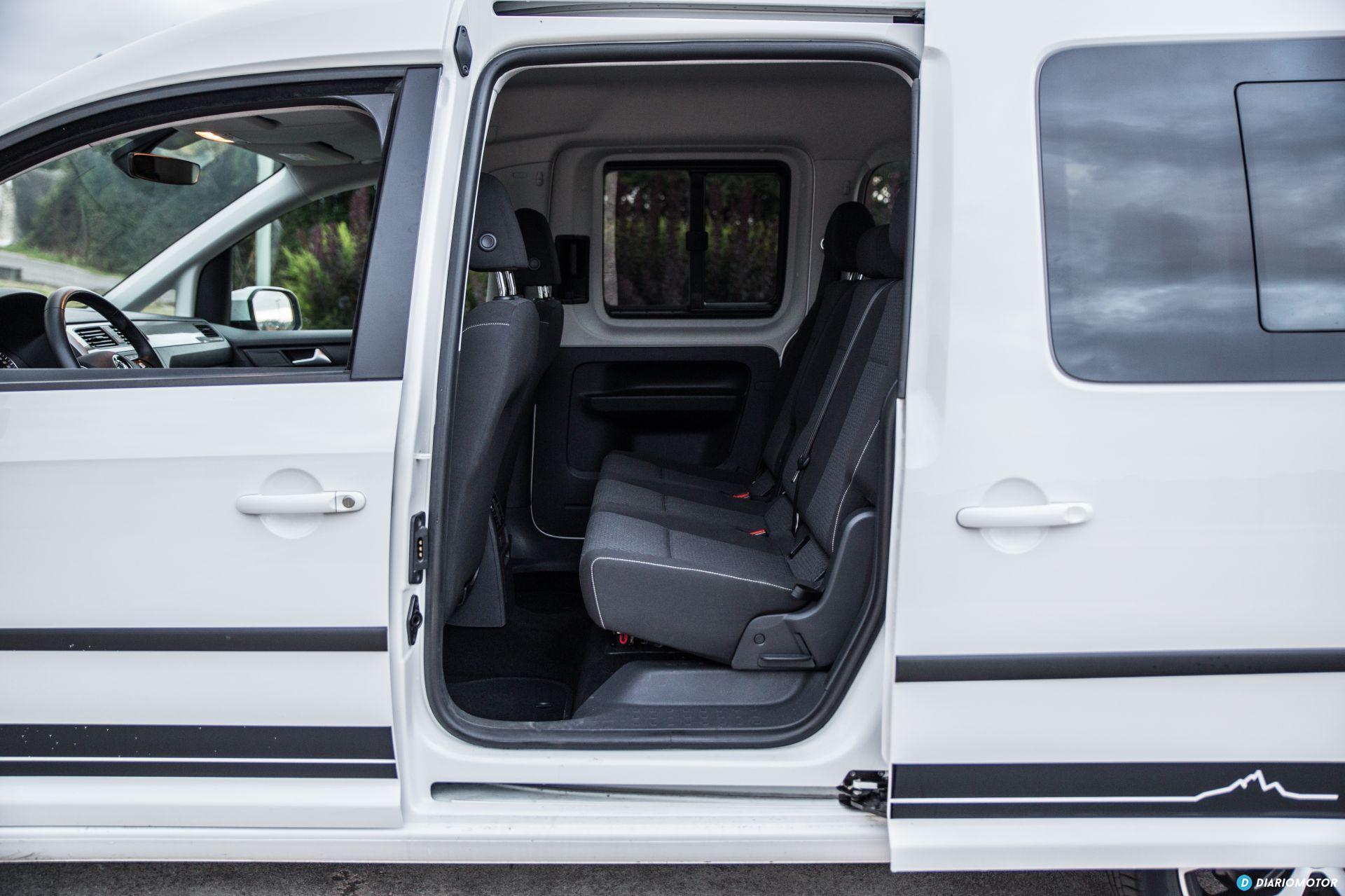 Volkswagen Caddy Maxi Outdoor Prueba 3