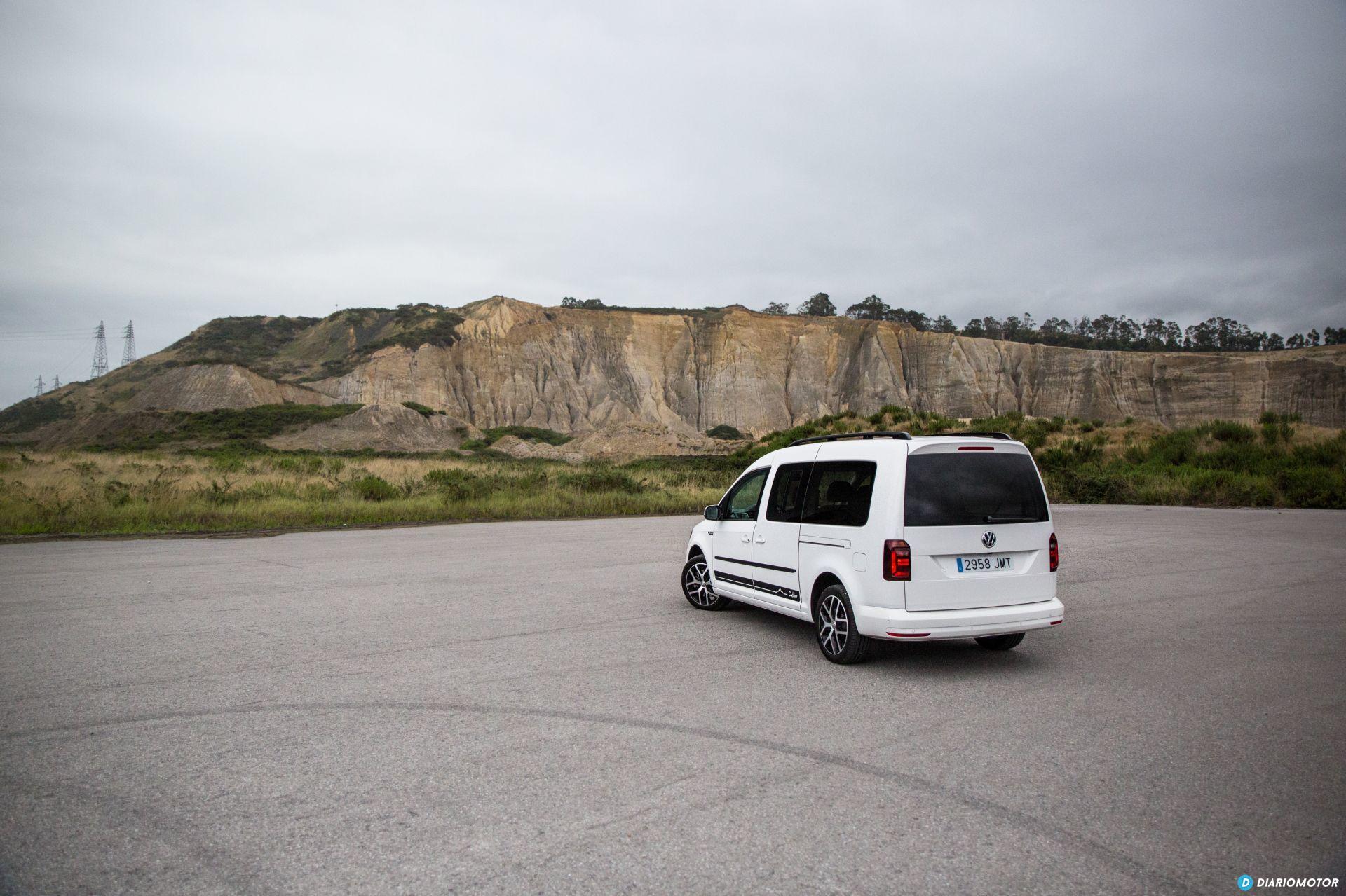 Volkswagen Caddy Maxi Outdoor Prueba 40
