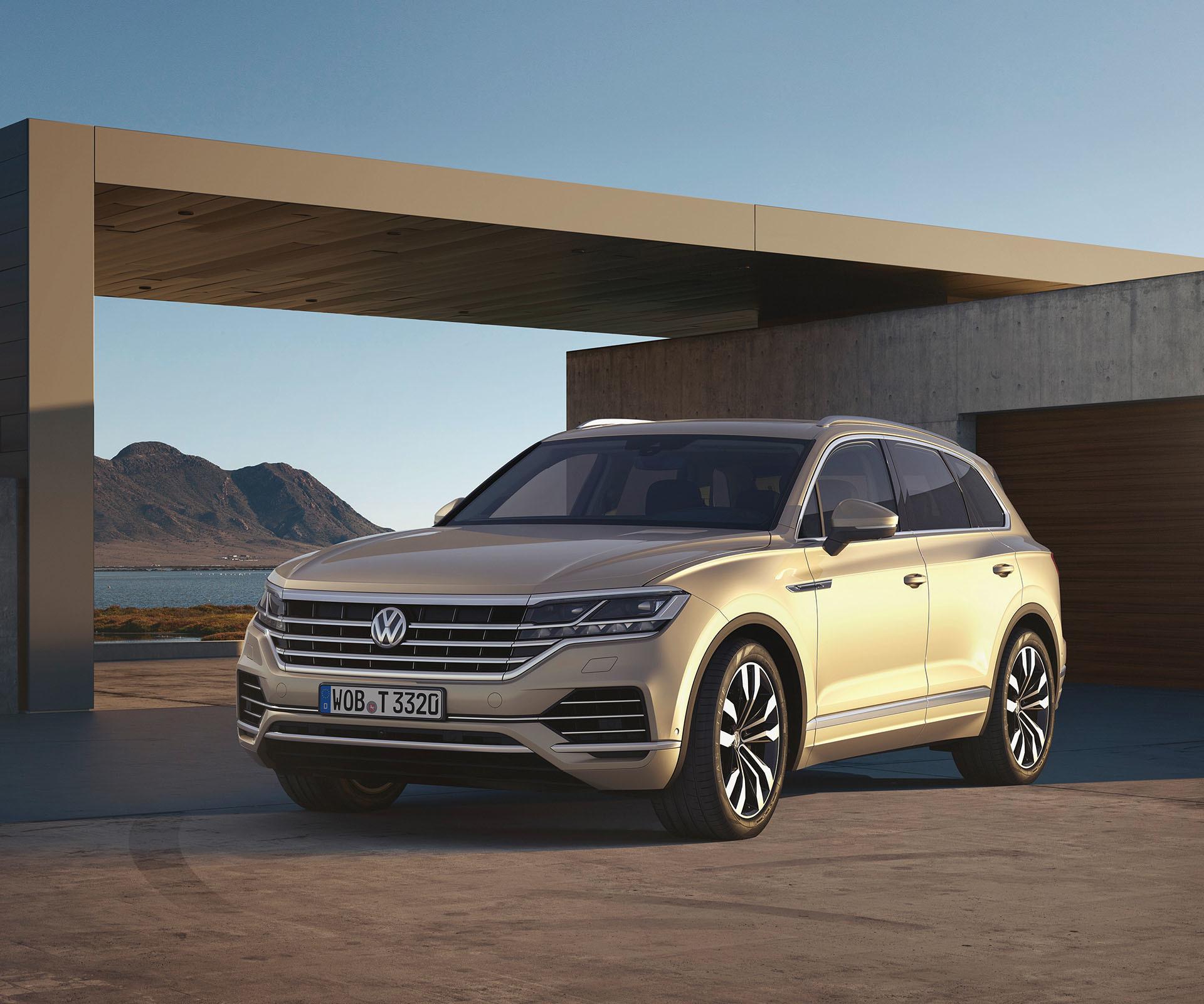 Volkswagen Touareg Portada