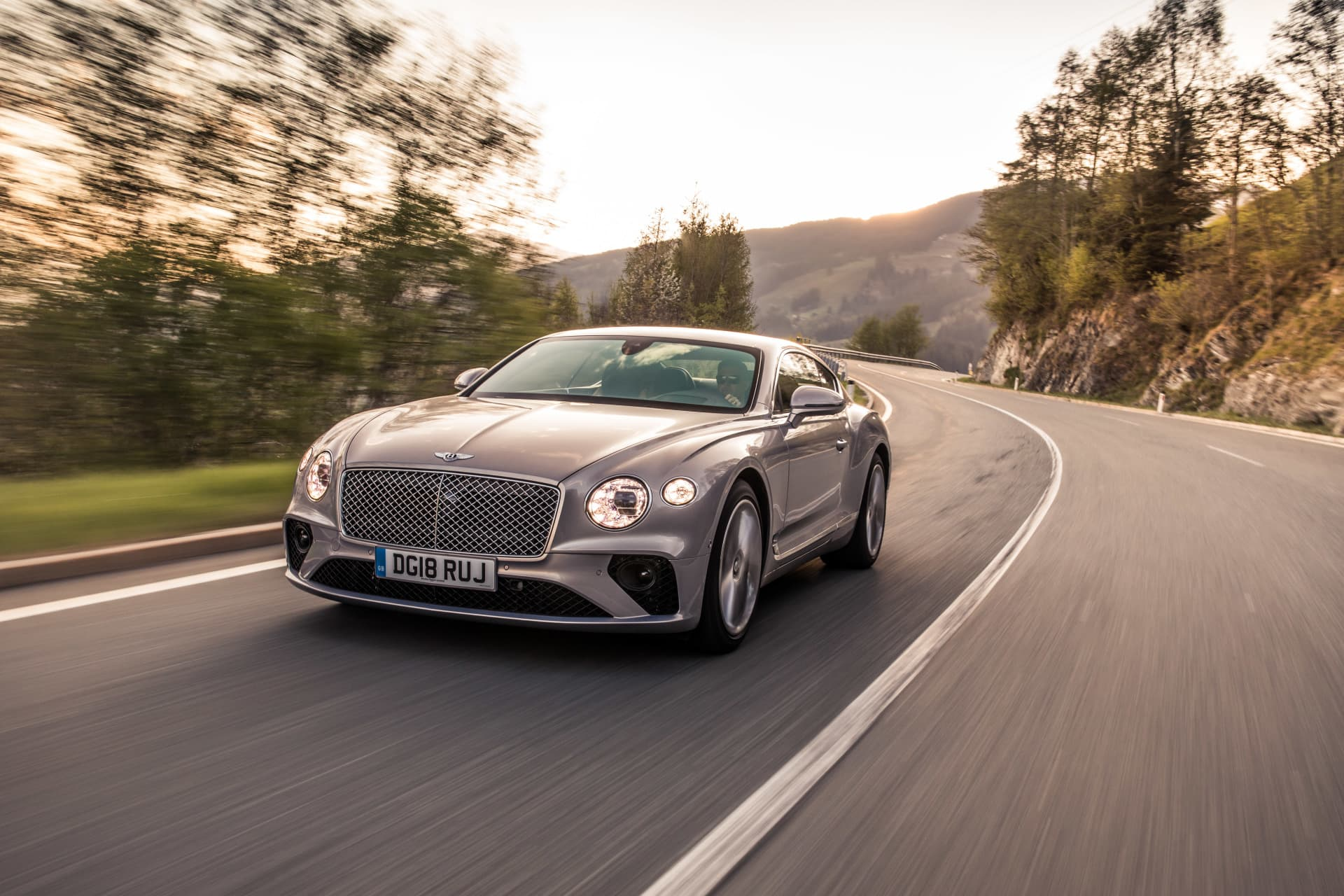 Bentley Continental Gt Extreme Silver 1