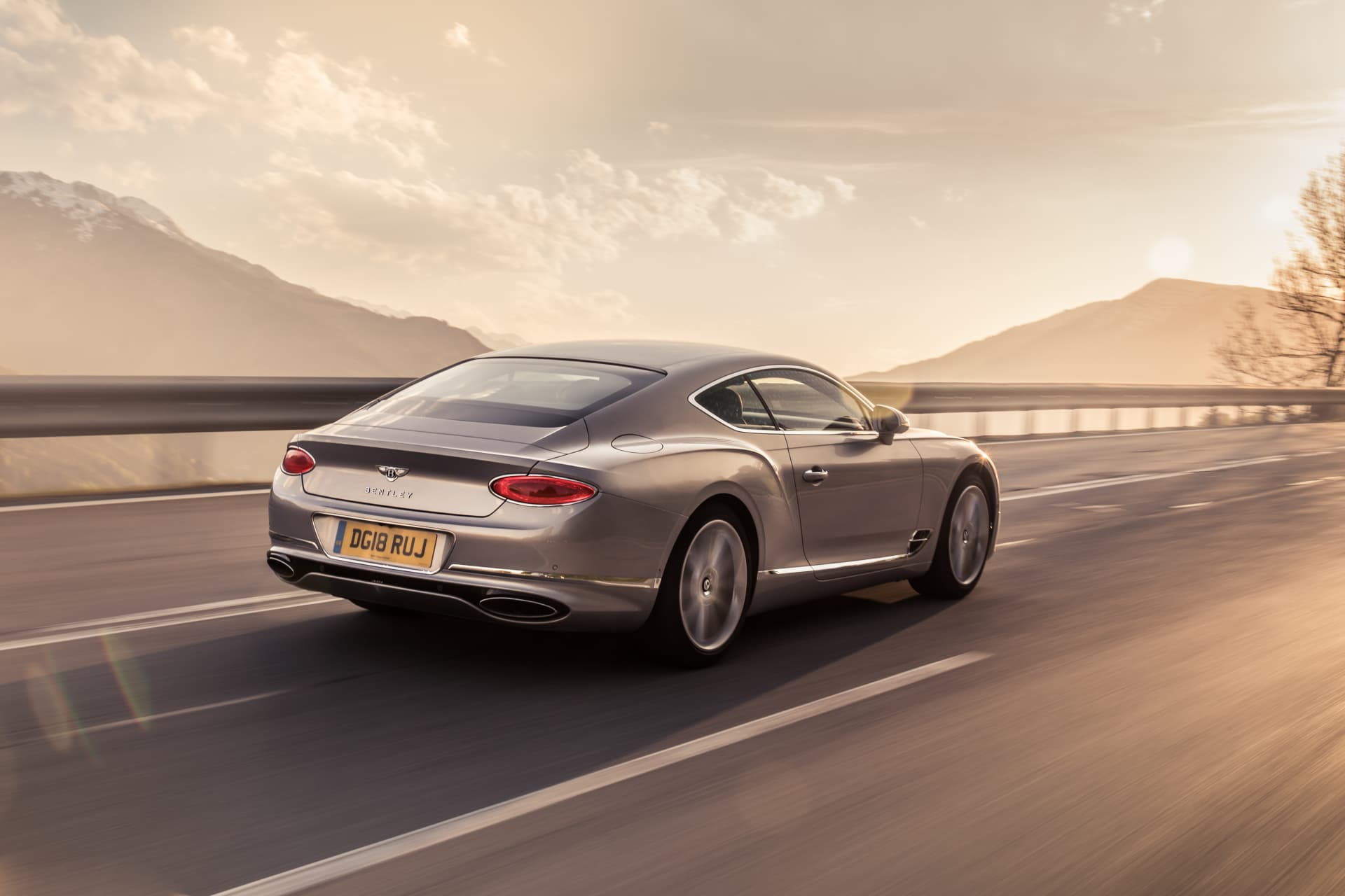 Bentley Continental Gt Extreme Silver 11