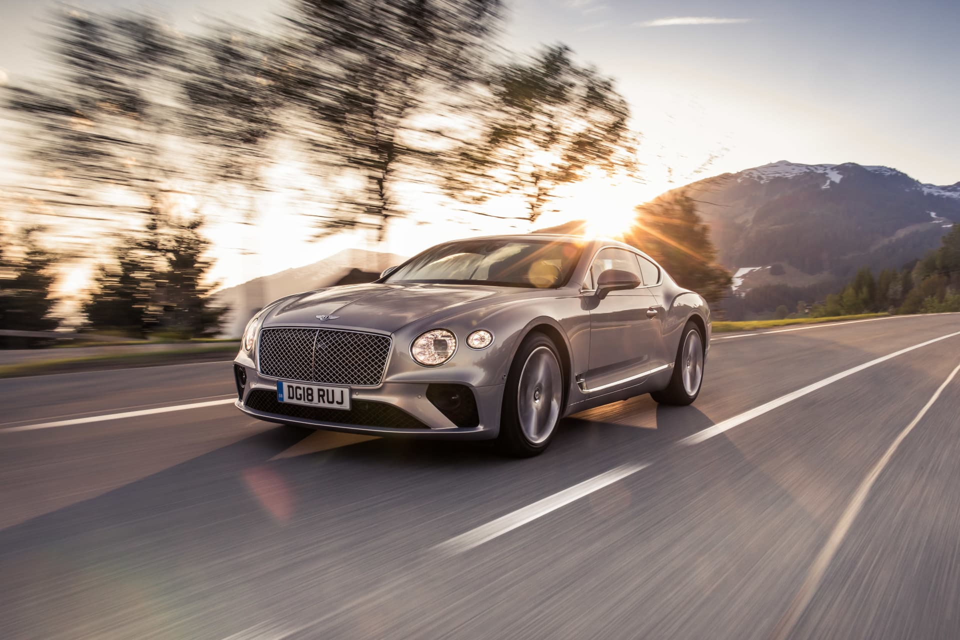 Bentley Continental Gt Extreme Silver 2