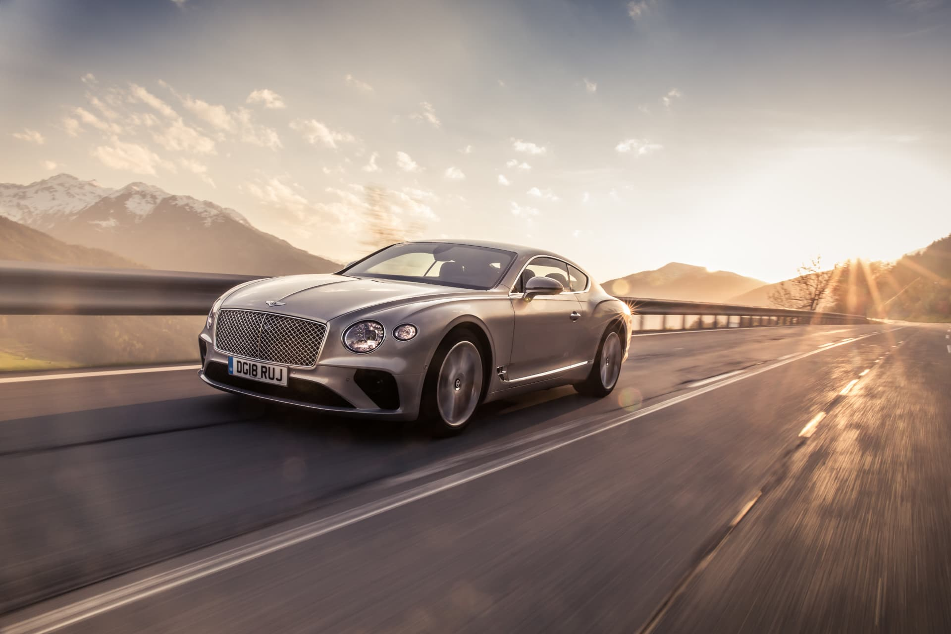 Bentley Continental Gt Extreme Silver 3