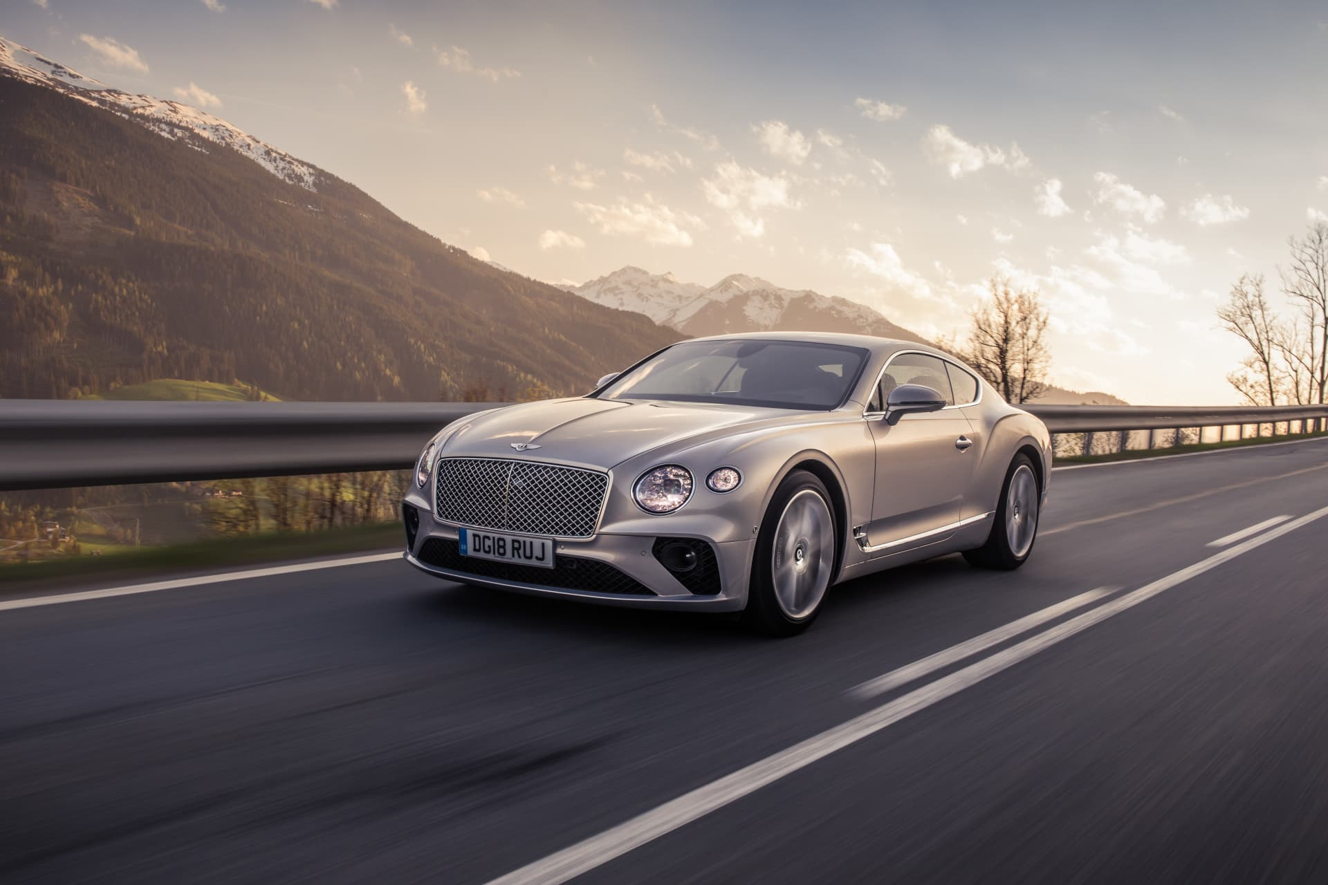 Bentley Continental Gt Extreme Silver 4