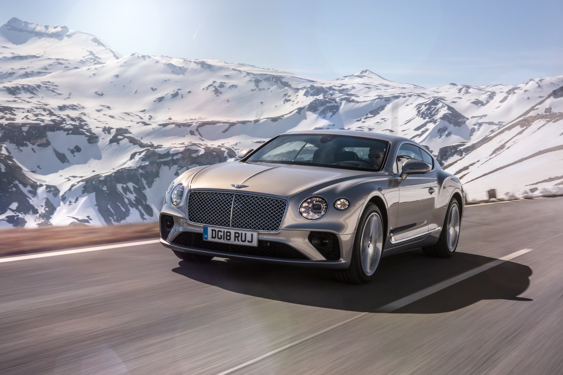 Bentley Continental Gt Extreme Silver 5