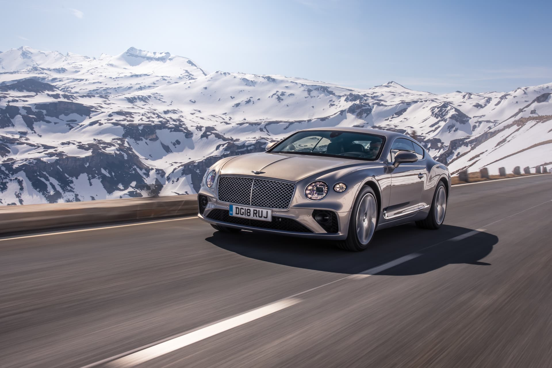 Bentley Continental Gt Extreme Silver 6
