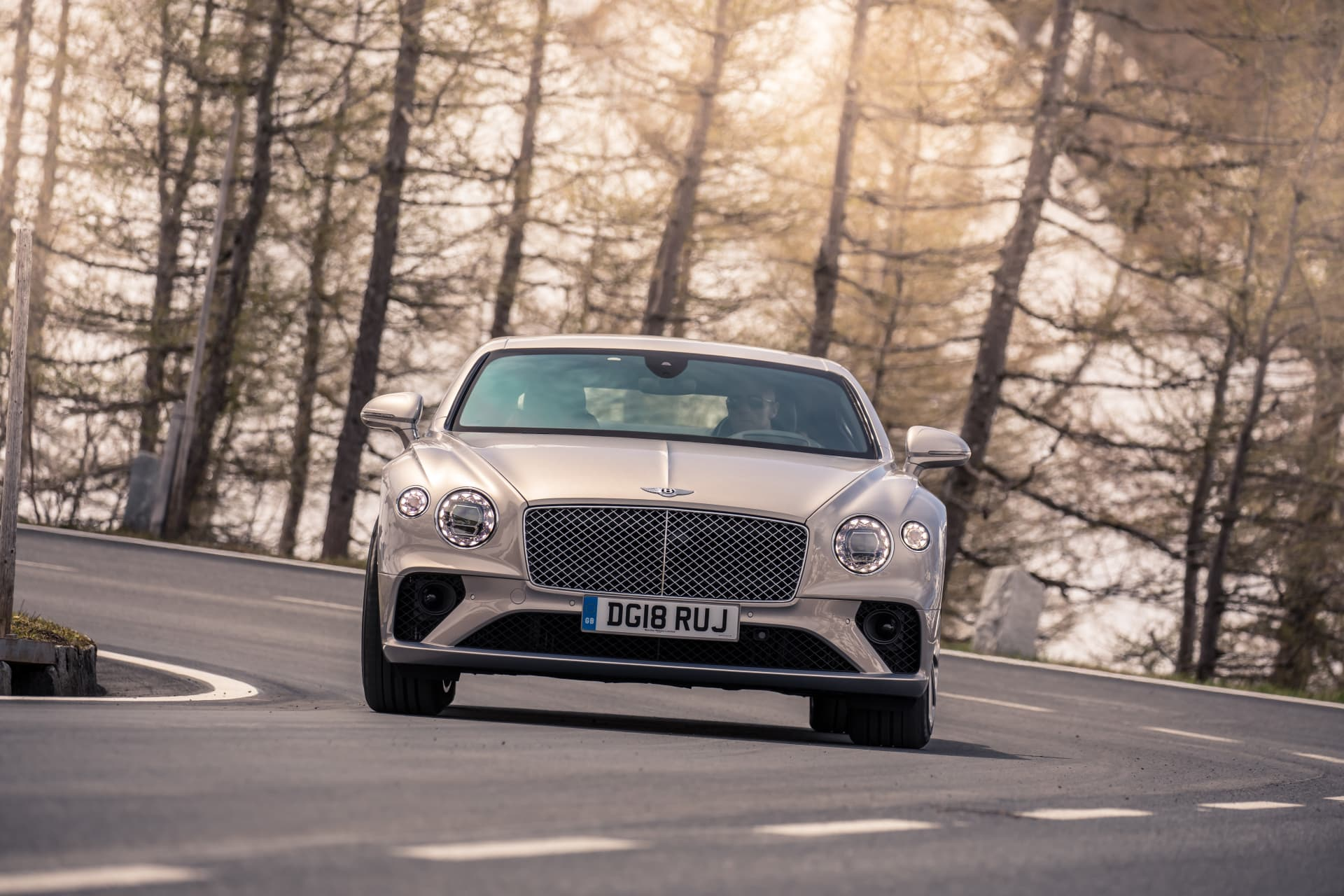 Bentley Continental Gt Extreme Silver 7