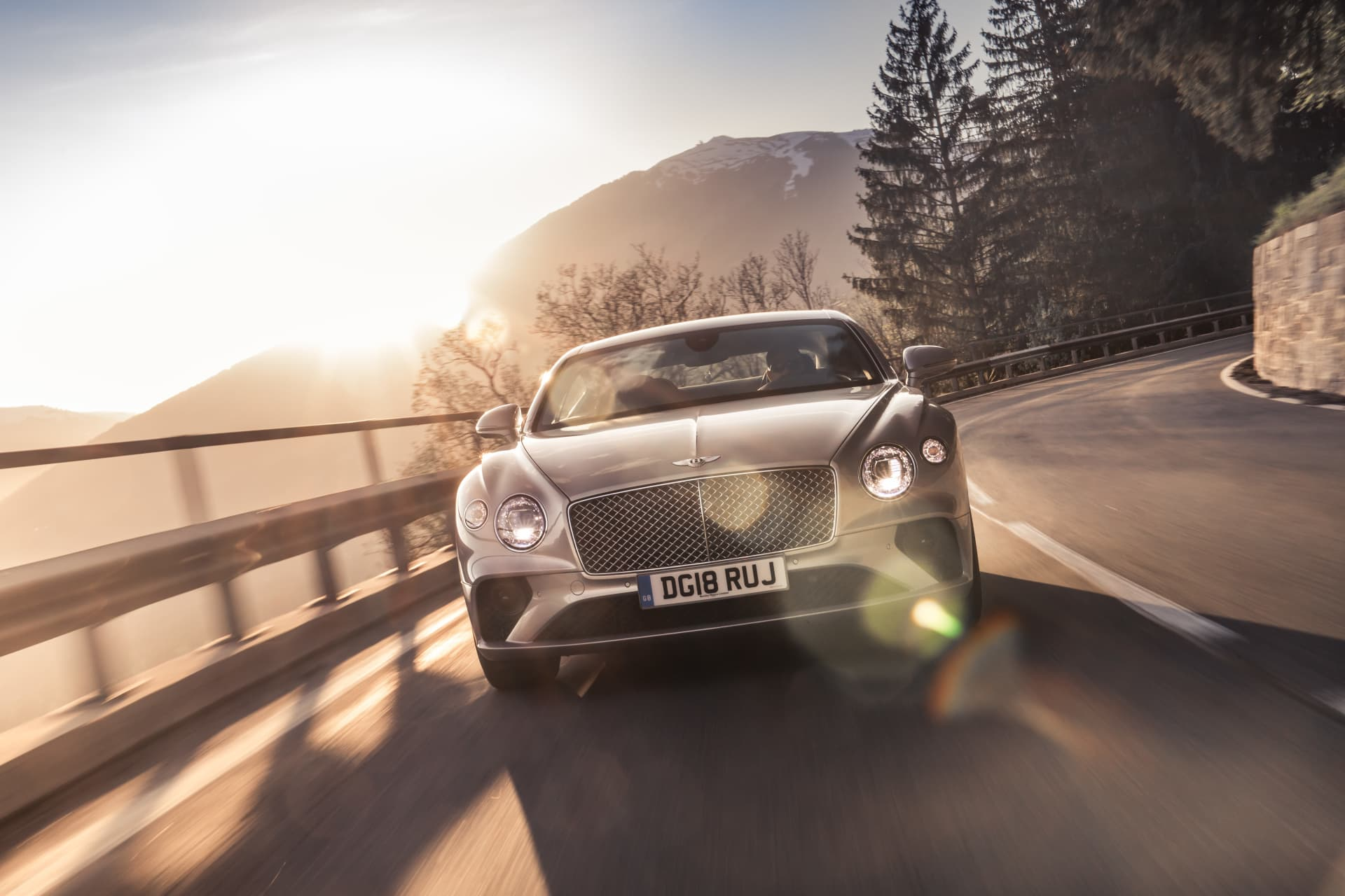 Bentley Continental Gt Extreme Silver 9