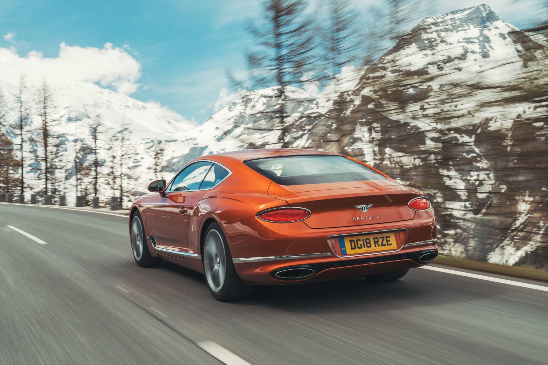 Bentley Continental Gt Orange Flame 13