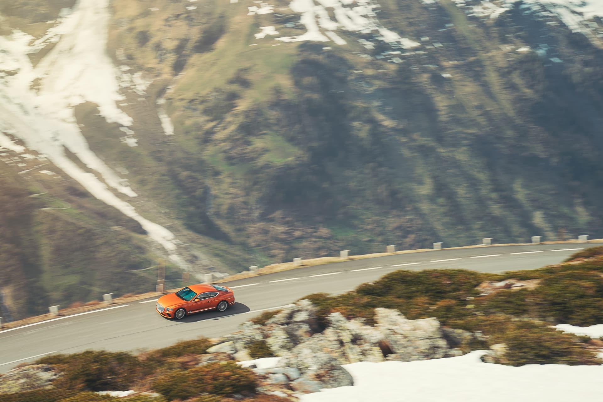 Bentley Continental Gt Orange Flame 17