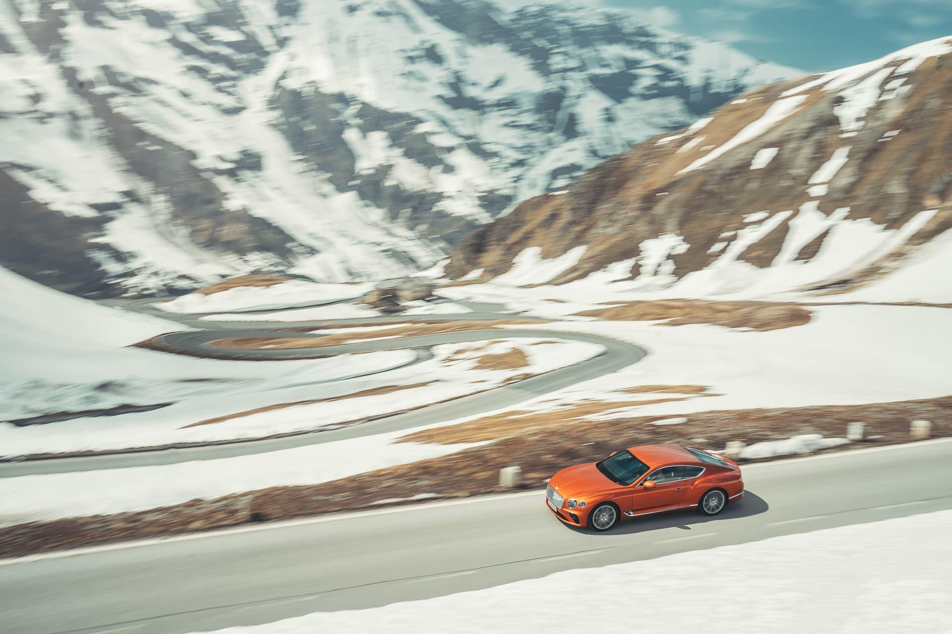 Bentley Continental Gt Orange Flame 2