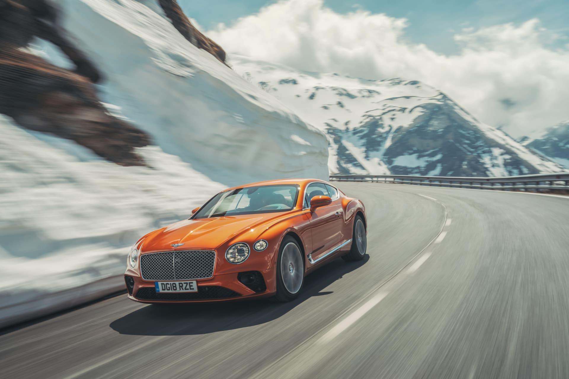 Bentley Continental Gt Orange Flame 3