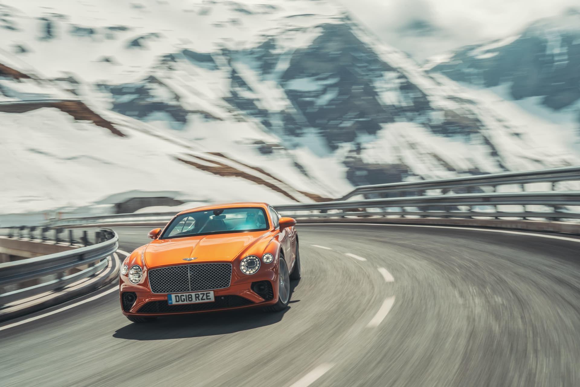 Bentley Continental Gt Orange Flame 4