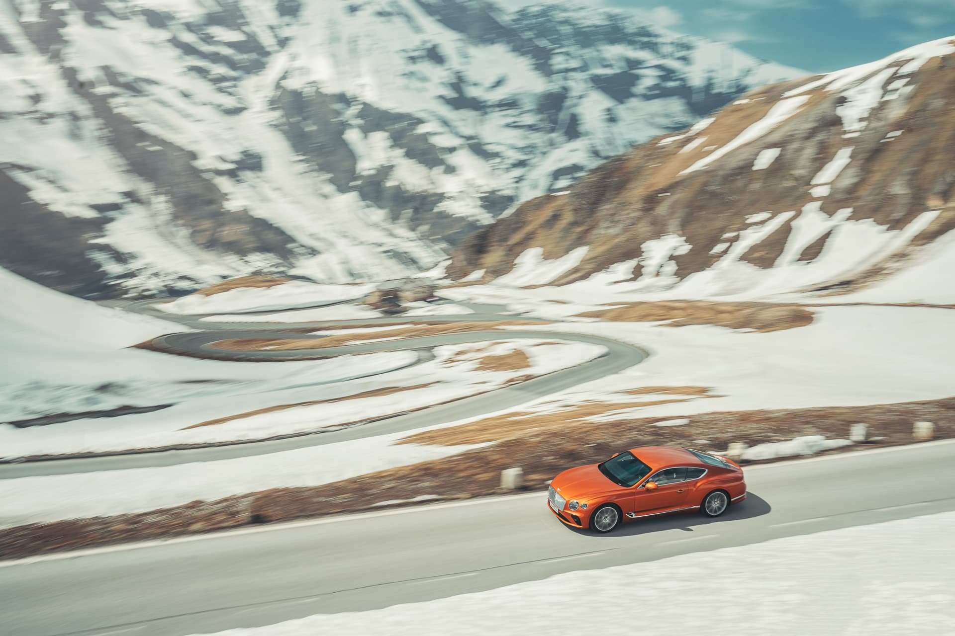Bentley Continental Gt Orange Flame 6