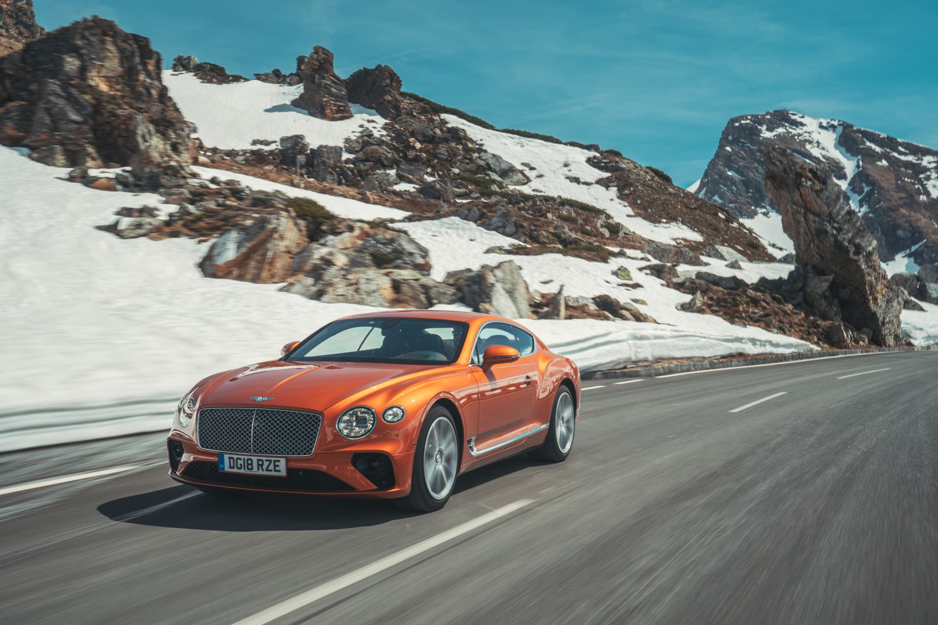 Bentley Continental Gt Orange Flame 7