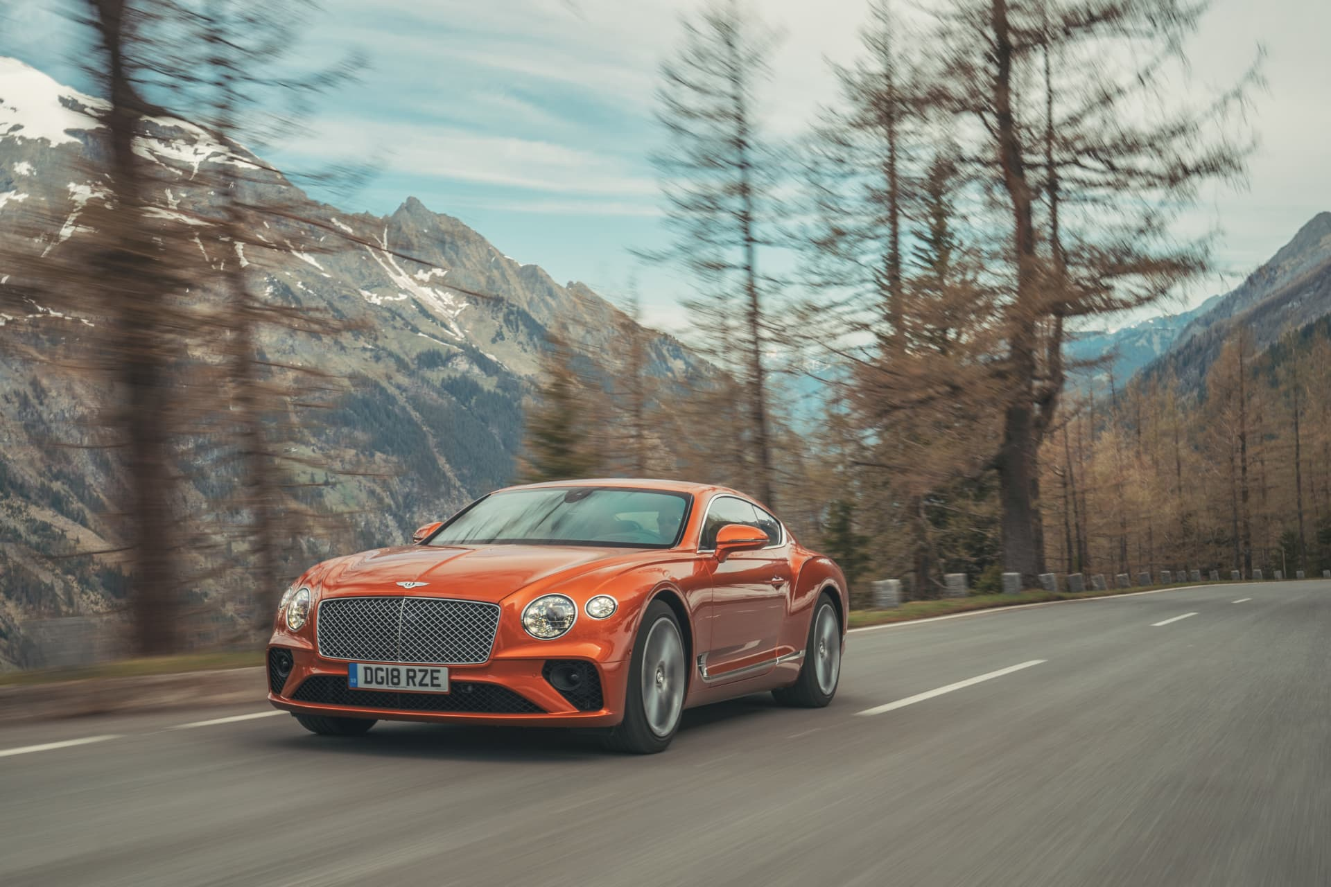 Bentley Continental Gt Orange Flame 9