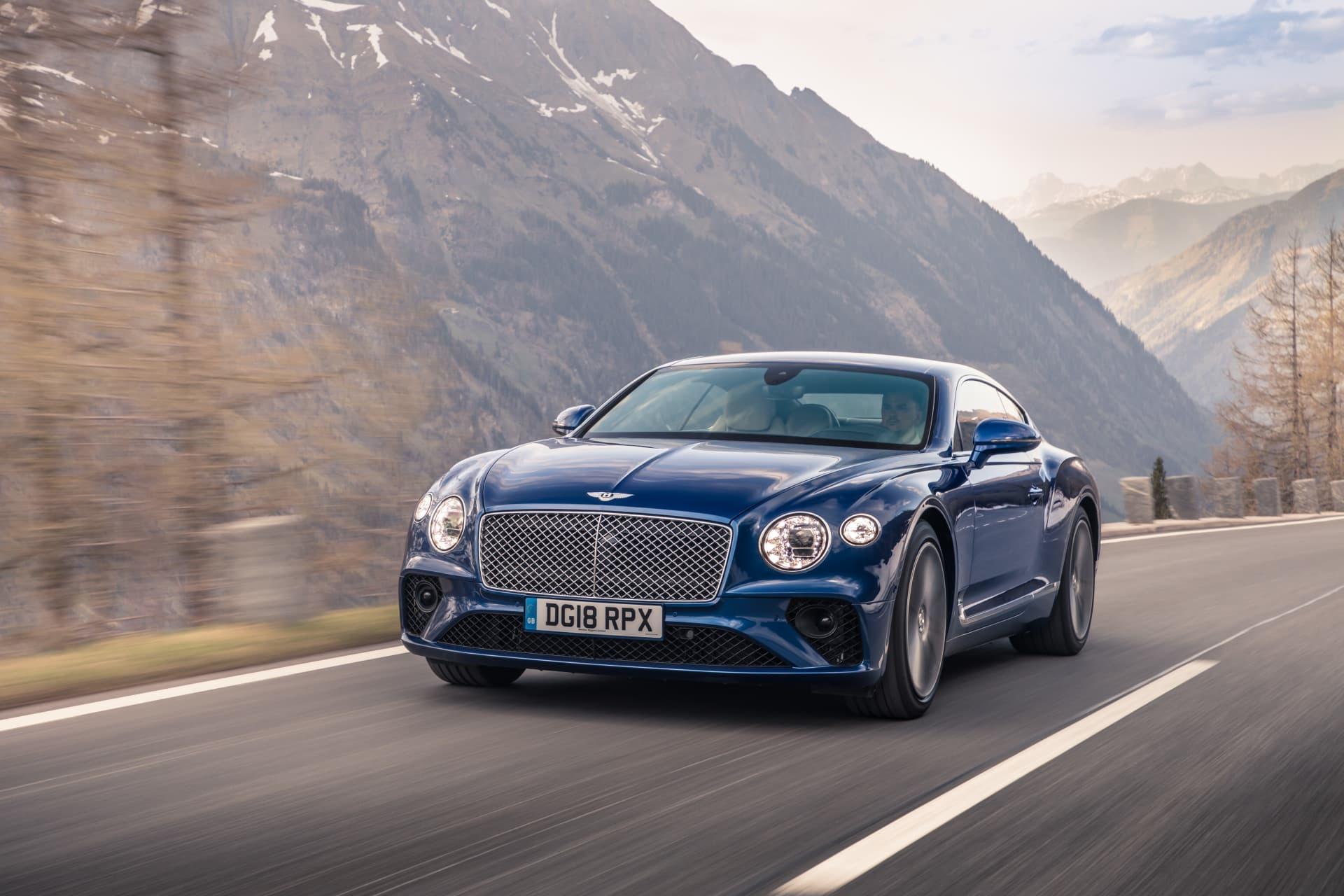 Bentley Continental Gt Sequin Blue 1