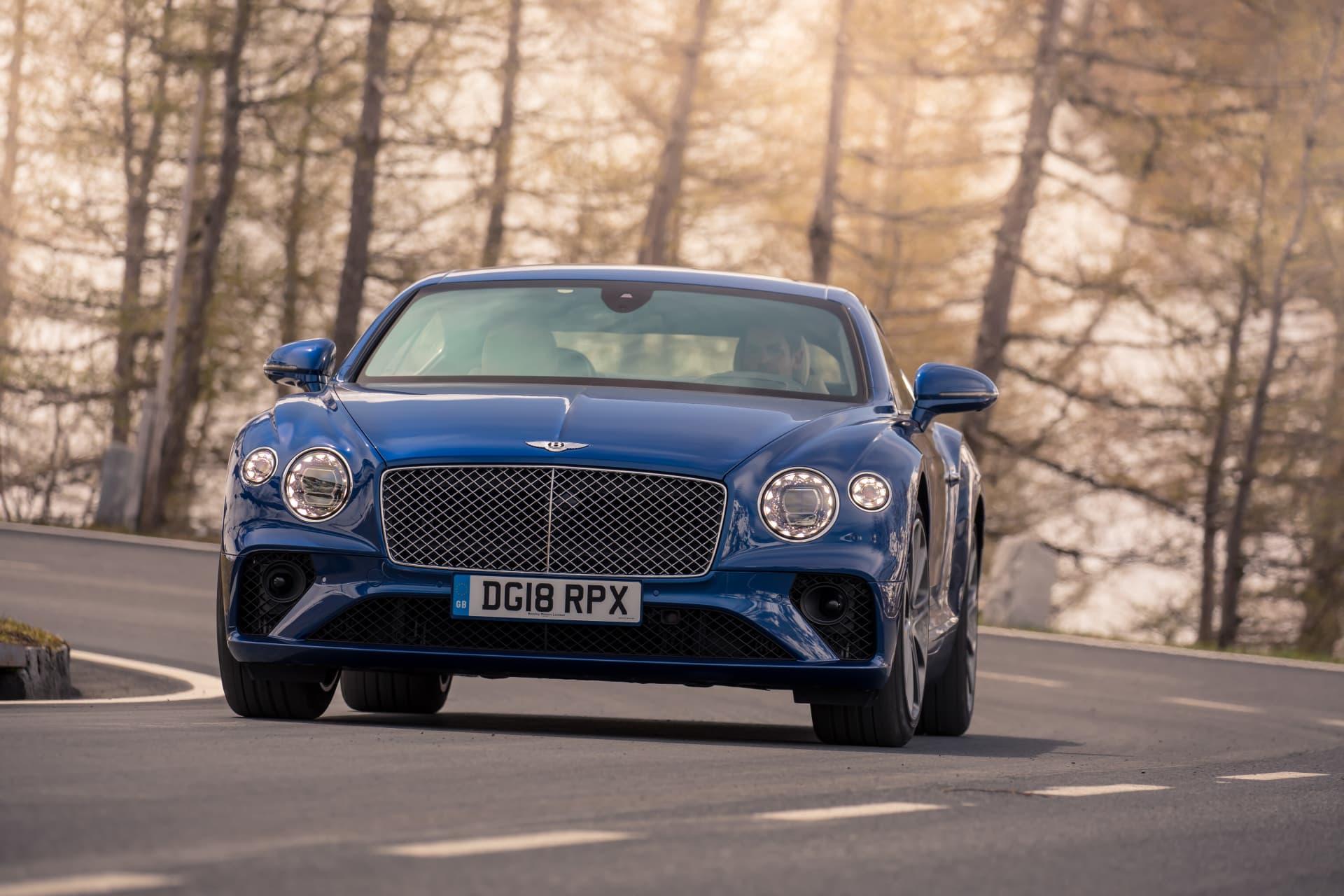 Bentley Continental Gt Sequin Blue 12