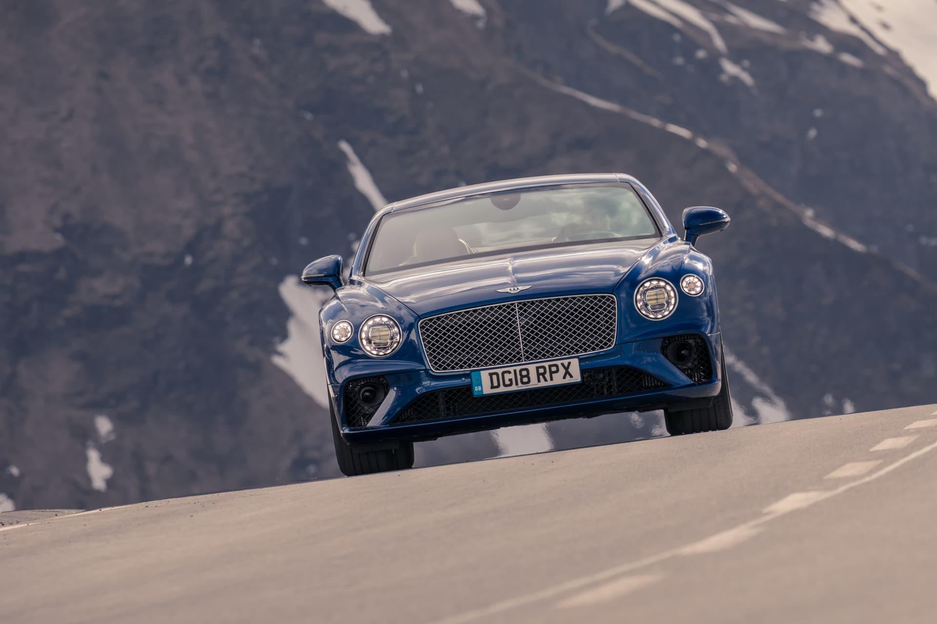 Bentley Continental Gt Sequin Blue 14